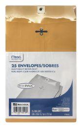 12 Bulk Mead 6x9 Clasp Envelopes - Office Pak