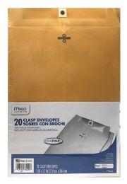 12 Bulk Mead Clasp Envelopes, Office Pak