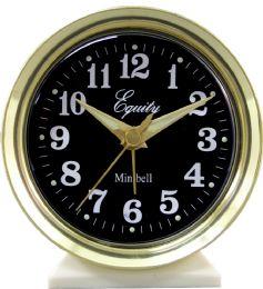 6 Bulk Analog Wind Up Bll Alarm Clock