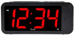 6 Bulk Quick Set Led Alarm Clock