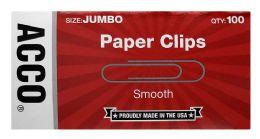 20 Bulk Acco Economy Jumbo Paper Clips