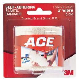 6 Bulk Ace Self Adhering Bandage 2in