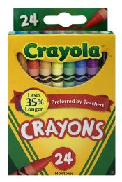 8 Bulk Crayola Classic Color Pack Crayons, 24 Count, Assorted Colors