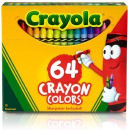 6 Bulk Crayola Crayons Box 64 Count