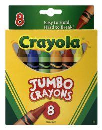 6 Bulk Crayola Jumbo Crayons 8
