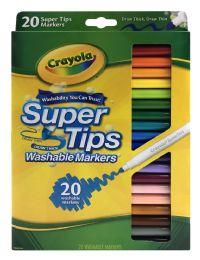 12 Bulk Crayola Super Tips Washable Markers 20 ct