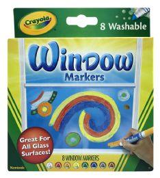 12 Bulk Crayola 8 Window Markers