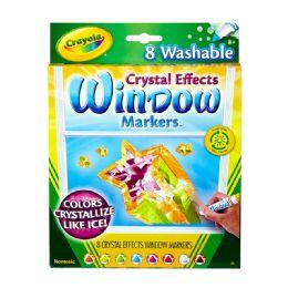 12 Bulk Crayola Window Markers 8ct