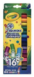 12 Bulk Crayola Pip Squeaks Washable Markers