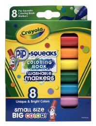 6 Bulk Crayola 8 PiP-Squeaks Washable Markers