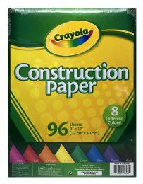 12 Bulk Crayola Construction Paper