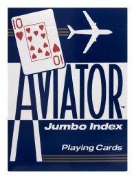 8 Bulk Aviator Jumbo Index Playing Cards