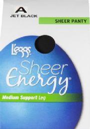 6 Bulk Leggs Sheer Energ Jet Blk St A