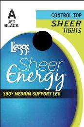 6 Bulk Leggs Shr/Enrgy Tghts Jetblk A
