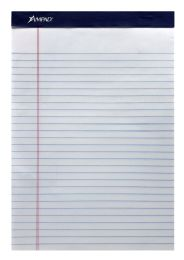 72 Bulk Ampad Evidence Perforated Pad, Size 8-1/2 X 11-3/4, White Paper, Legal Ruling