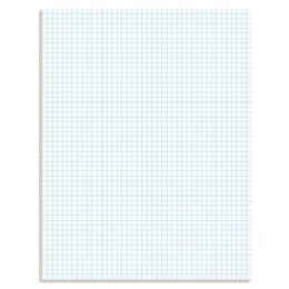 20 Bulk Ampad® Graph Pad, Graph Rule (5 X 5), 50 Sheets
