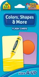 8 Bulk Flash Cards Colors And Shapes