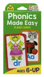 8 Bulk School Zone Phonics Made Easy Flash Cards