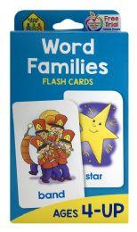 8 Bulk School Zone Flash Cards Word Families