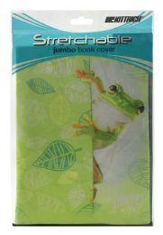 24 Bulk Kittrich Stretchable Jumbo Book Cover
