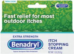 6 Bulk Benadryl Ex Strength Cream 1z