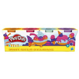 8 Bulk Hasbro PlaY-Doh Modeling Compound 4-Ounce Cans 4-Pack