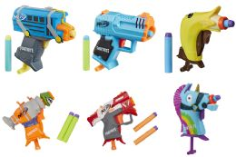 12 Bulk Nerf Microshots Fortnite Blasters Assorted
