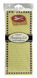 12 Bulk Shopping List Premium Magnetic Pad