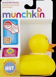 6 Bulk Munchkin White Hot Safety Duck