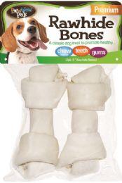 12 Bulk Bwow Rawhide Bones 2Pk