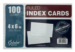 24 Bulk Ischolar New York Ruled Index Cards