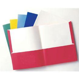 96 Bulk 2 Pocket Portfolio Asst Letter
