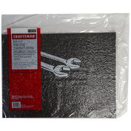 10 Bulk Liners 5ct Non Slip Drawer Black