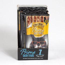 10 Bulk Cat Treat 7pk Prime Taste Jerky