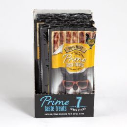 10 Bulk Cat Treat 7pk Prime Taste Salmon