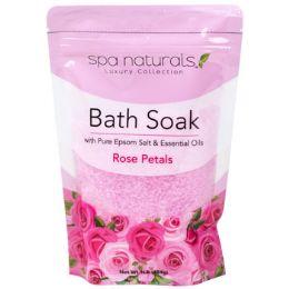 12 Bulk Bath Soaks Rose Petals