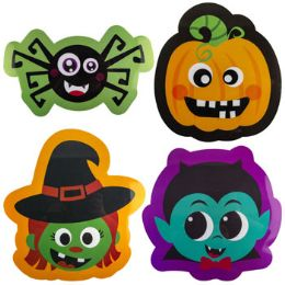 96 Bulk Placemat Halloween Pp Plastic 4ast Icons/hlwn Upc Label