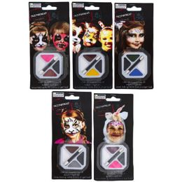 50 Bulk Makeup Hlwn Face Paint Kit 5ast