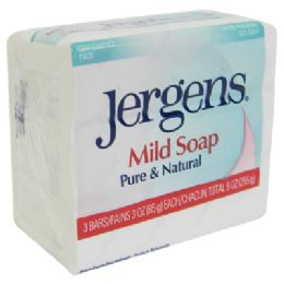 32 Bulk Jergens Mild Bar Soap 3 Pack 3 Oz Each Pureand Natural