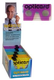 200 Bulk Opticard Pocket Reading Glasses 50 Pcs In Acrylic Display With 150 Pc Refills