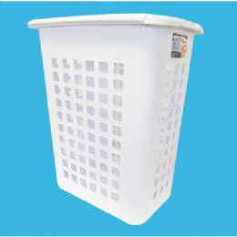 4 Bulk Sterilite Laundry Hamper Lift Top White