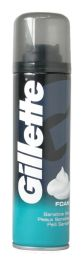 6 Bulk Gillette Shaving Foam 200 Ml Sensitive