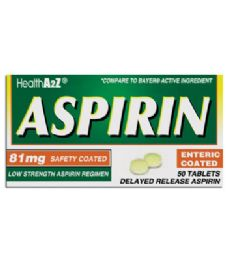 24 Bulk Aspirin Coated Tablets 50 Ct 81 Mg Compare To Bayer