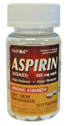 24 Bulk Aspirin 100 Count 325 Mg Compare To Bayer