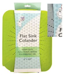 24 Bulk Pride Sink Colander/mat 10.5 X 13 In Assorted Colors