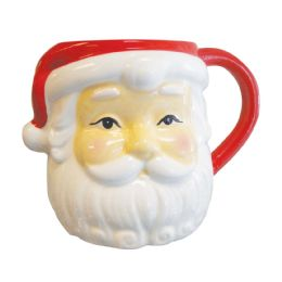 4 Bulk Santa Face Christmas Mug 26 oz