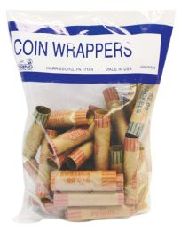 50 Bulk Coin Wrappers 36 Count Assorted
