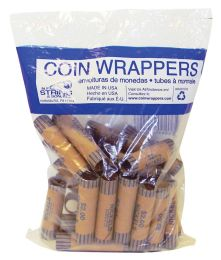 42 Bulk Coin Wrappers 36 Count Nickel