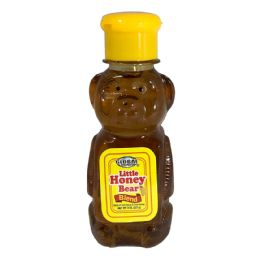 24 Bulk Global Little Honey Bear 8 Oz In Dispenser