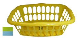 48 Bulk Basket Rectangular 18 X 13 X 7.5 Inches Assorted Colors